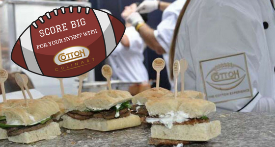 Sports Themed Party Catering