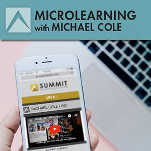 Microlearning - Michael Cole
