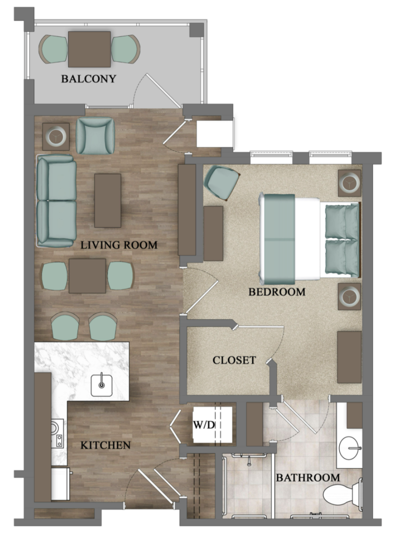 Assisted Living - One Bedroom