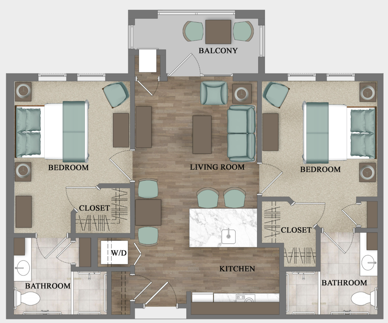 Assisted Living - Two Bedroom