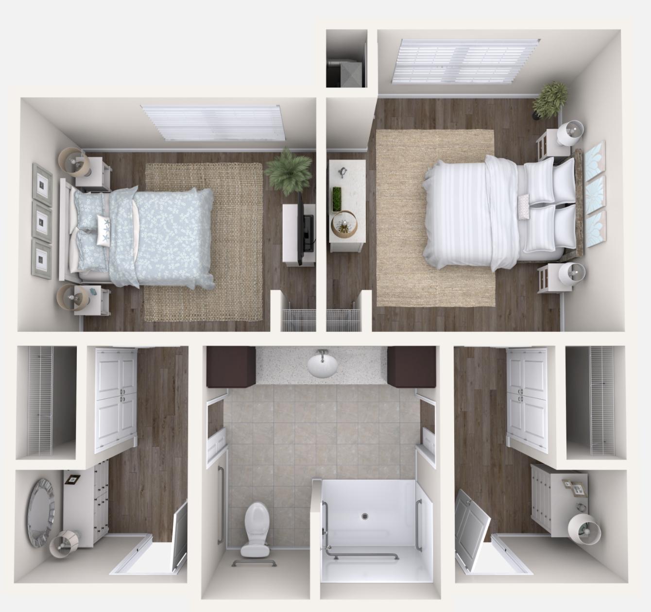 Memory Care - Companion Suite