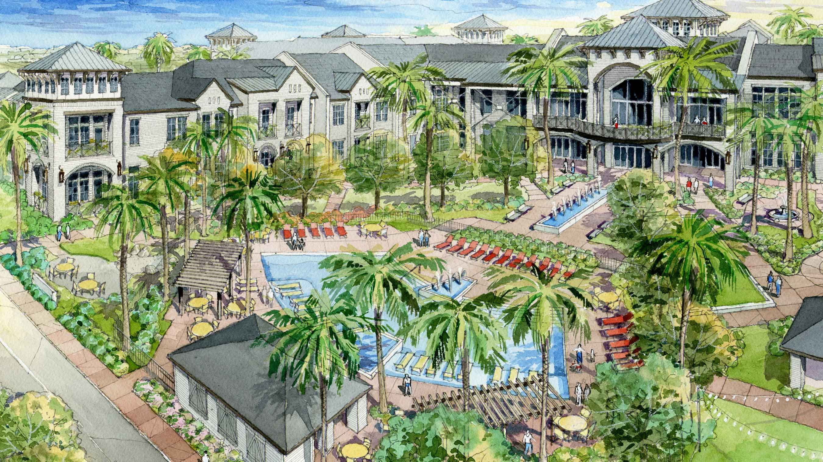 Legendary Living Montgomery - Assisted Living Rendering