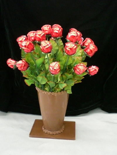 Custom Creations- Rose choc vase .jpg