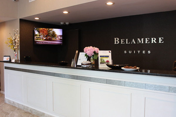 Check-in at the Belamere