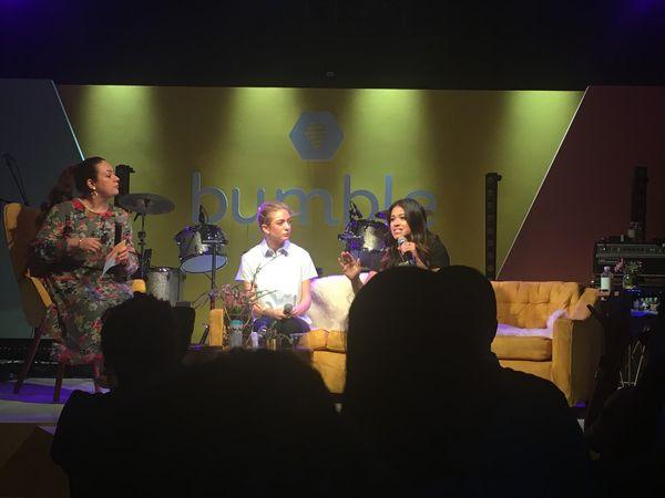 Gina Rodriguez on Bumble Panel