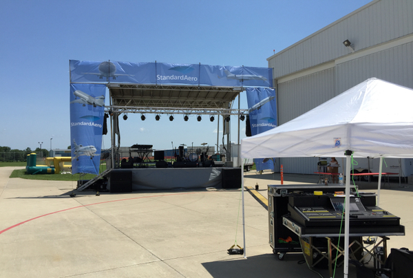 Austin concerts sound and lighting