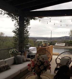 View from Camille Styles' back patio