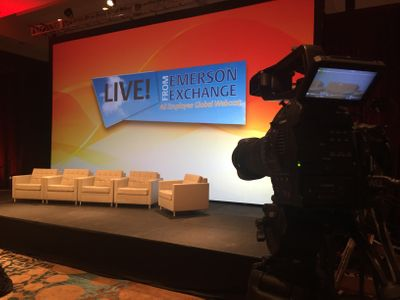 Emerson Exchange stage in the Hilton Downtown
