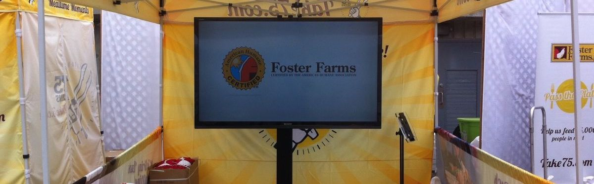 Foster Farms Trade Show Booth