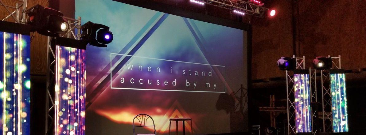 Austin conference stage design