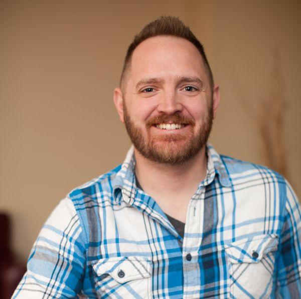 A headshot of Mitch Aldridge