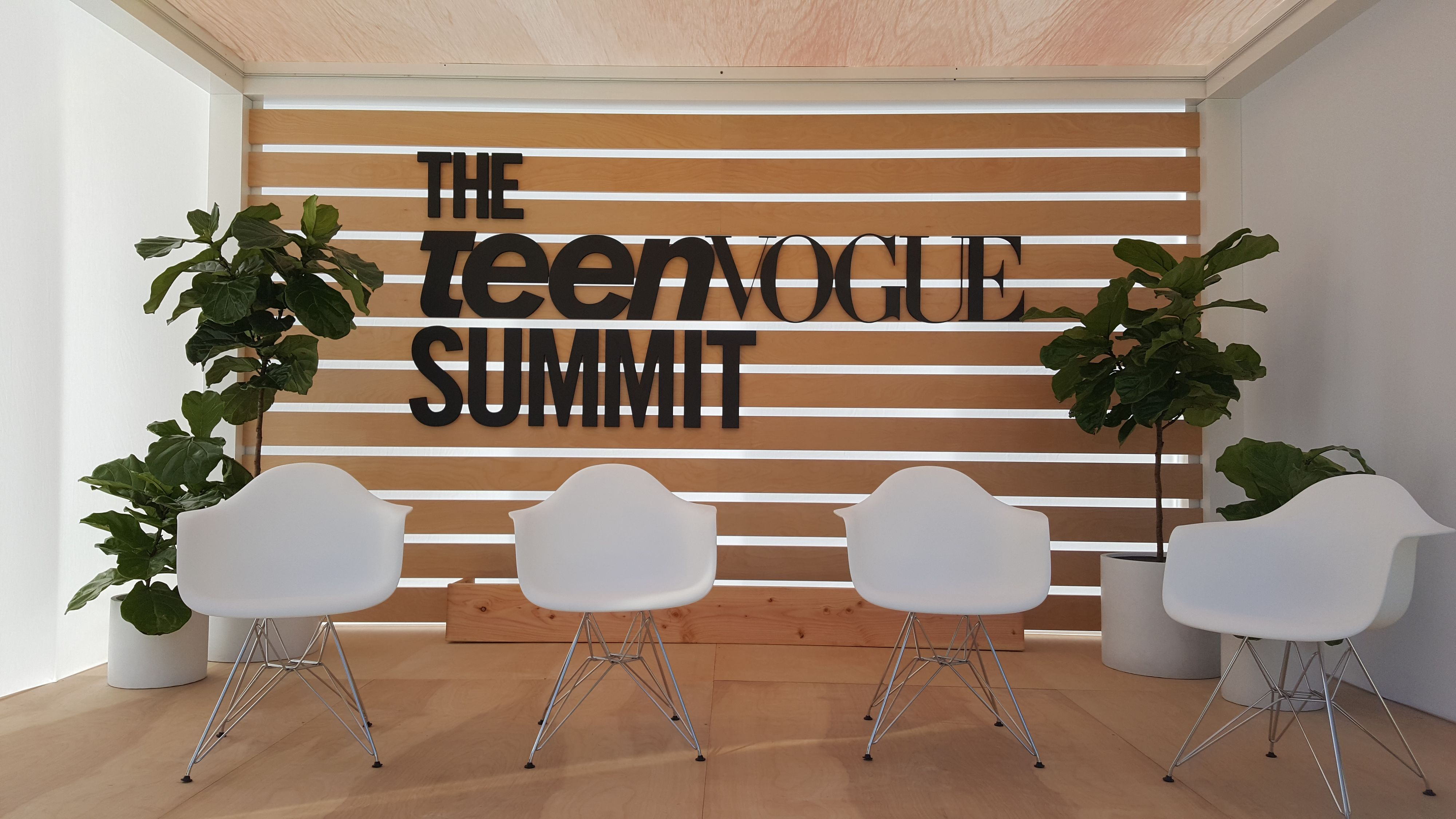 Small Teen Vogue Summit Stage Design