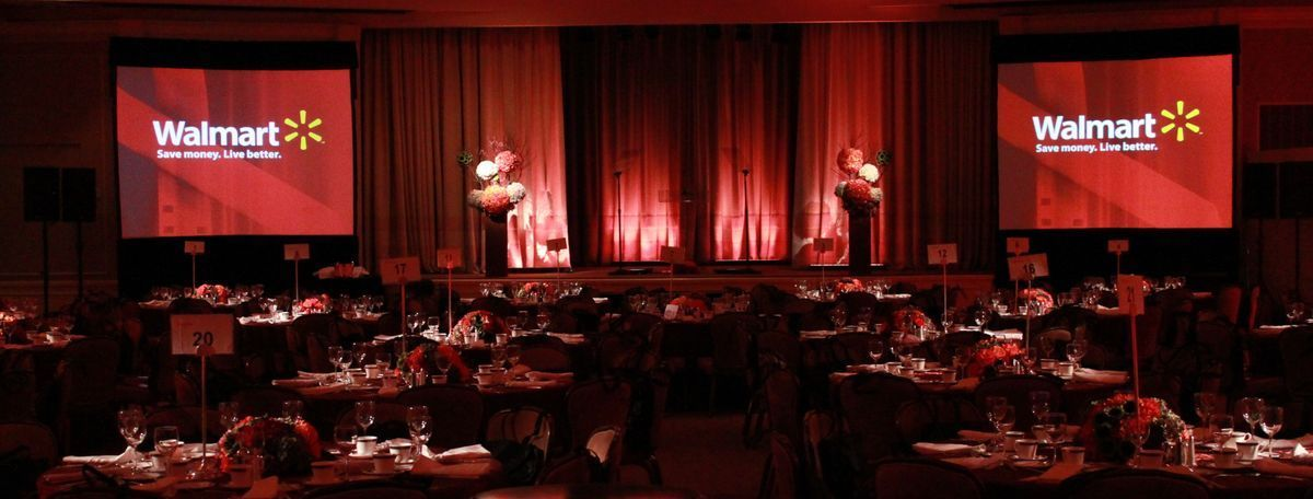 ATX Gala with red lighting