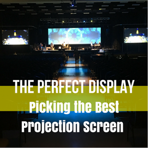 perfect display projection screen