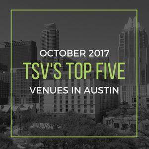Top Five Venues in Austin