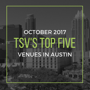 Top Five Venues in Austin