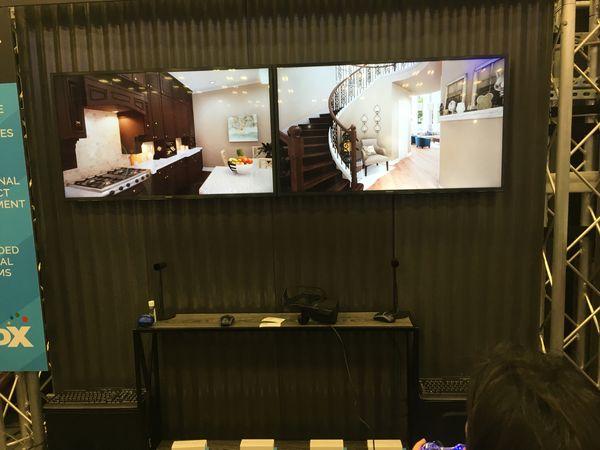 VR TV Screens at SXSW