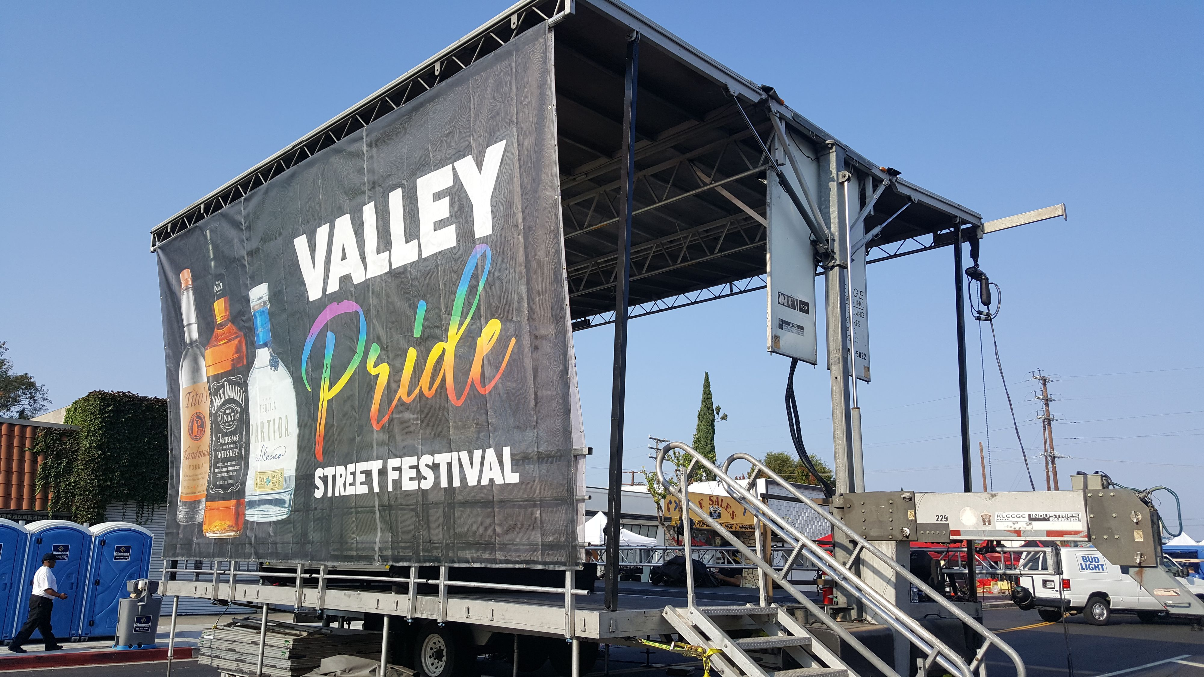 Pride Street Festival Stage