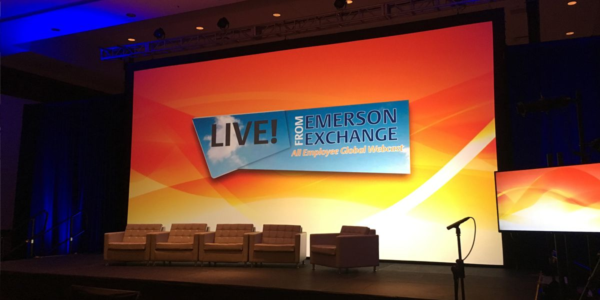 Emerson Exchange Conference Stage