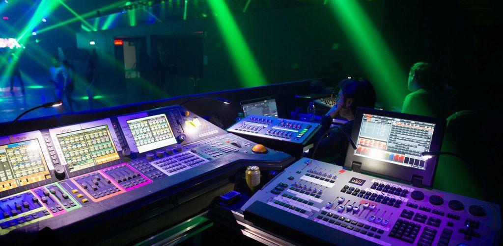 Lighting Control at Austin, Texas Event