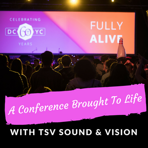 A Conference Brought To Life With TSV Sound & Vision