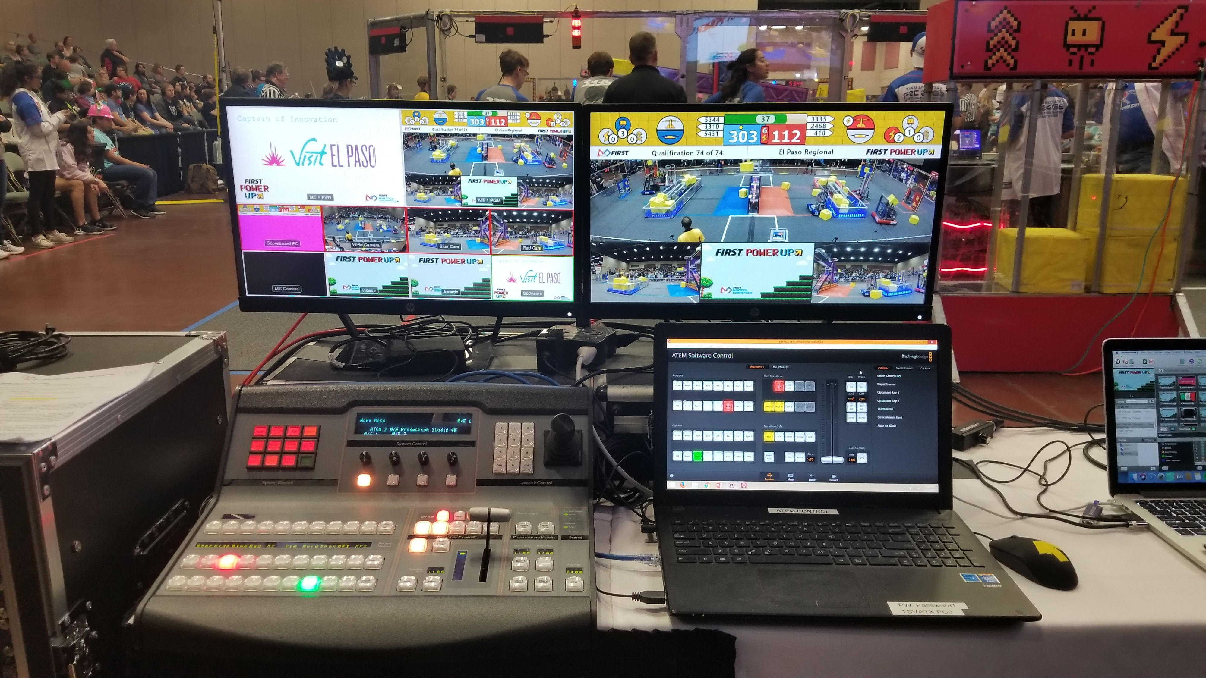 Video Control Equipment at an ATX Event