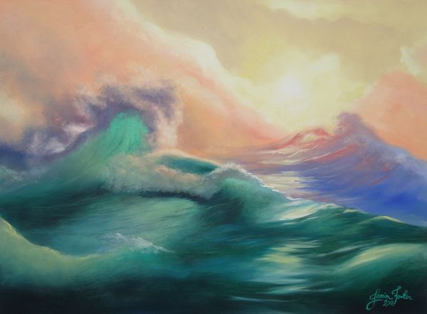 Local Austin artist The Call of the Sea by janis fowler.jpg