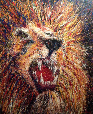 Dondi_Aguirre_To Have The Heart Of A Lion austin art paint.jpg
