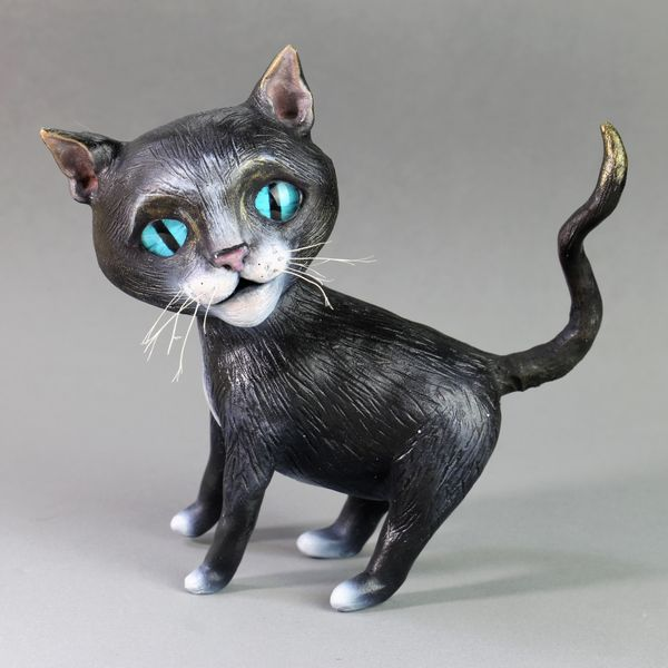 Local Austin artist Cat soot by Carla Yeatts.JPG