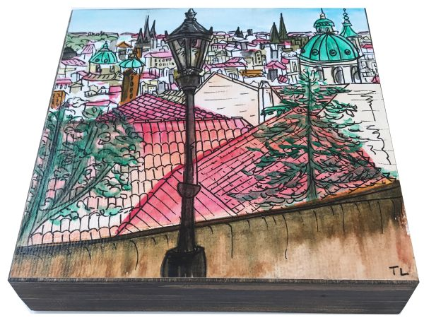 Local Austin artist Prague Viewpoint by Tarah Luke.jpg