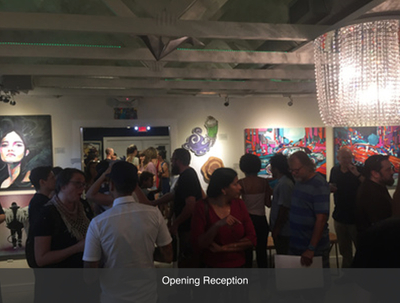 Opening Reception Local Austin Art Gallery Art For The People