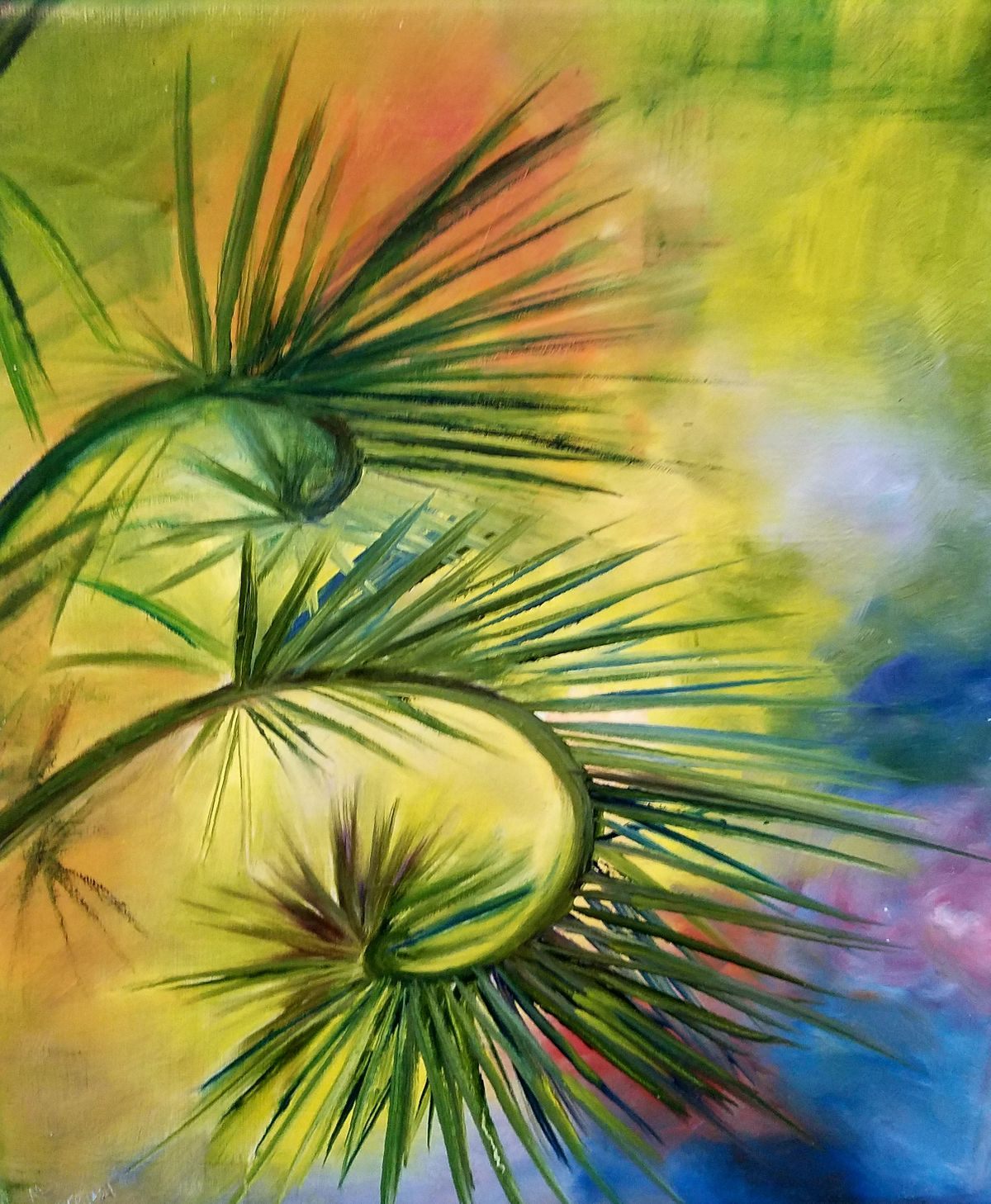 1_Marilyn_Querejazu_Palm in sunlight #3_Austin Art_Austin Artist_Austin Gifts.jpg