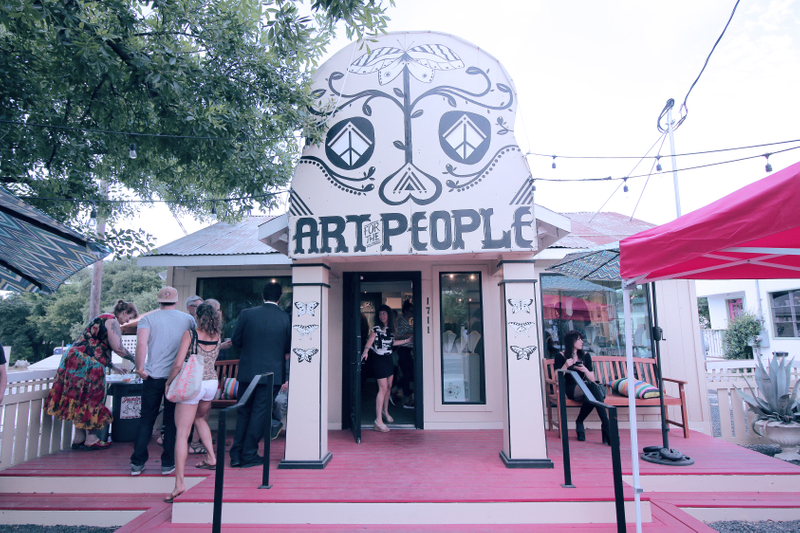 unique art prints shop in austin