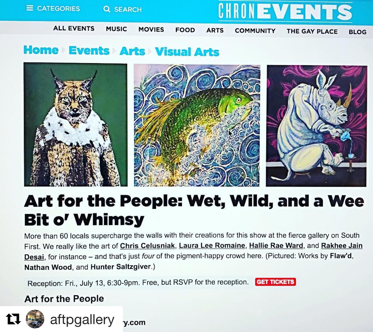 Art For The People - Austin Chronicle - Austin Gifts -Austin Art.JPG