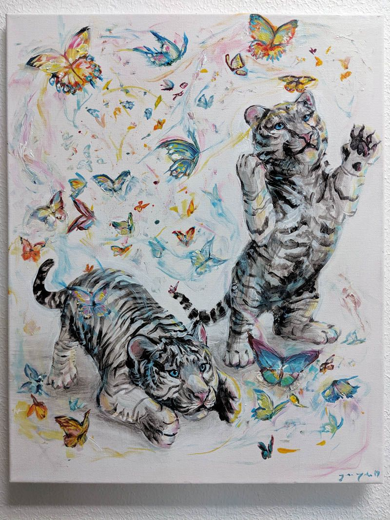 2a_James_Talon_Tigers & Butterflies_Austin Art_Austin Artist_Austin Gifts.jpg