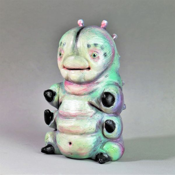 Local Austin artist Caterpilloar by Carla Yeatts.JPG