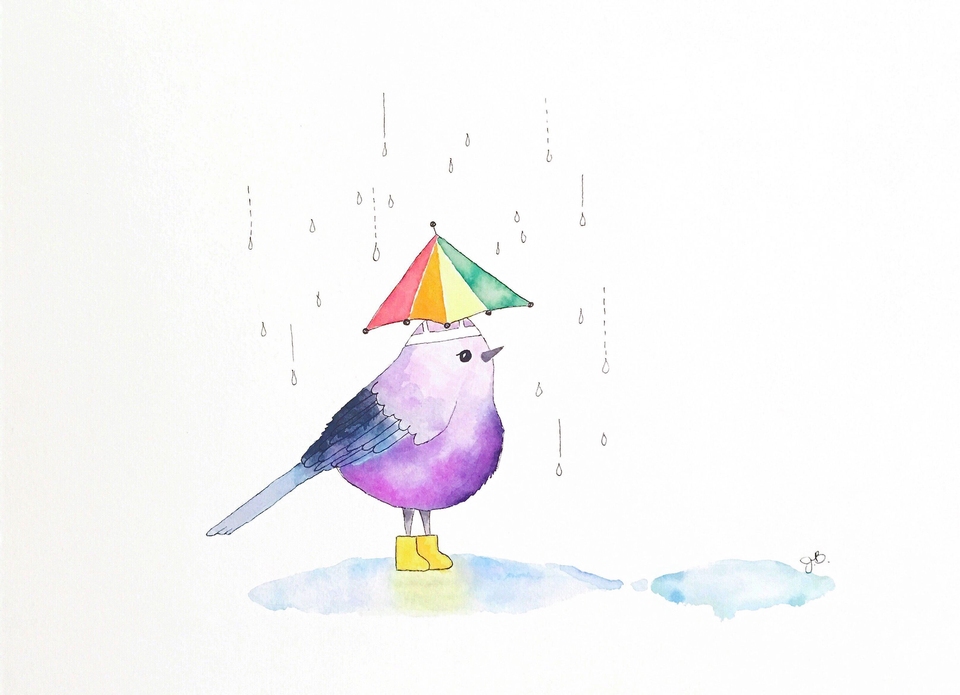 1_Jennifer_Brazell_Rainy Day Bird_Austin Art.JPG