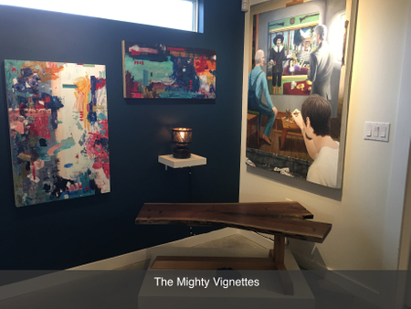 previous exhibition local austin art gallery the mighty vignettes