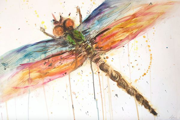 Local Austin artist Dragon Fly by Darien Nuckols.JPG