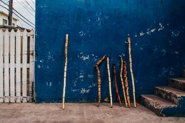 Local Austin artist Walking Sticks by Fum Fum Ko.jpg