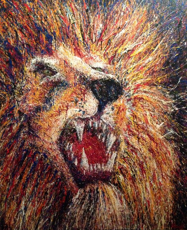 Dondi_Aguirre_To Have The Heart Of A Lion_Local Austin Art.jpg