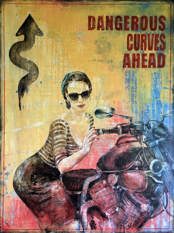 Local Austin Artist Dangerous Curves Ahead by Anna Ganina.jpg