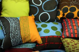 artistic pillows