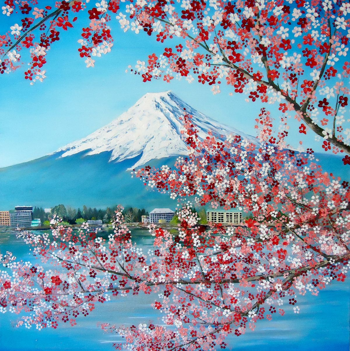 janis_fowler_cherry blossoms at mount fuji.jpg