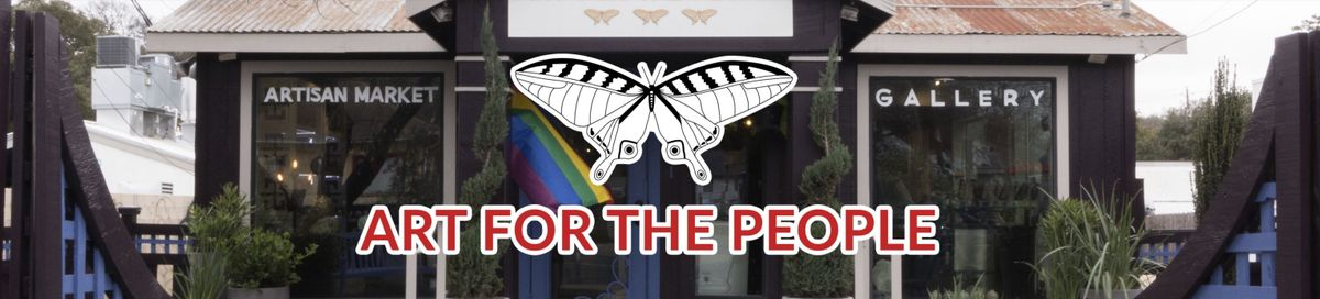 Art for the People Newsletter Banner