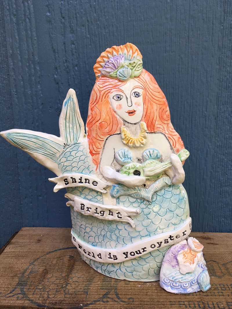 Tiny_Happy_Clay_Mermaid_of Magnitude_Austin_Artist.jpg