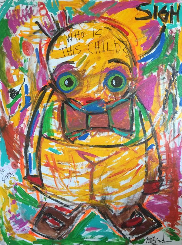 Local Austin artist Who is this Child by Martin Burke.jpg
