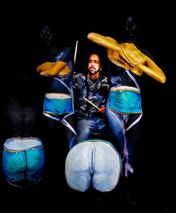 Local Austin artist The Enchanted Musician Drum by Vonetta Berry.jpg