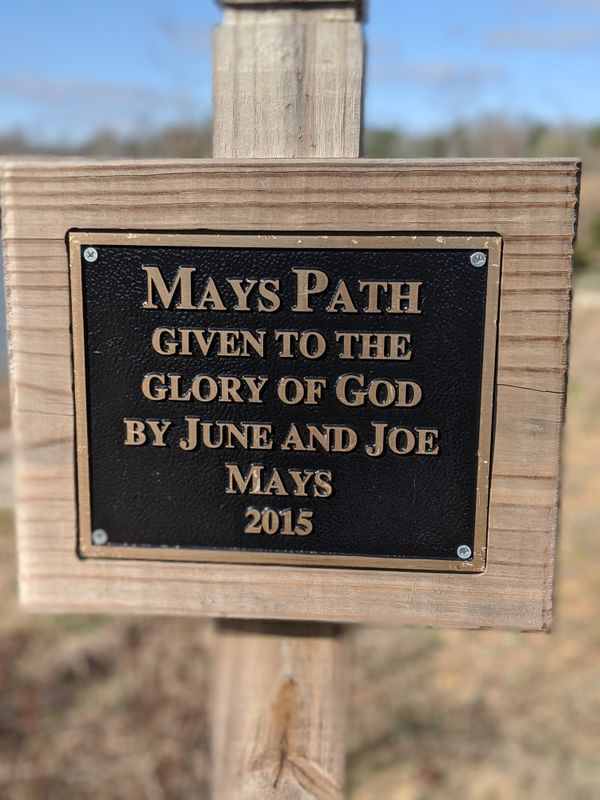Mays path sign.jpg