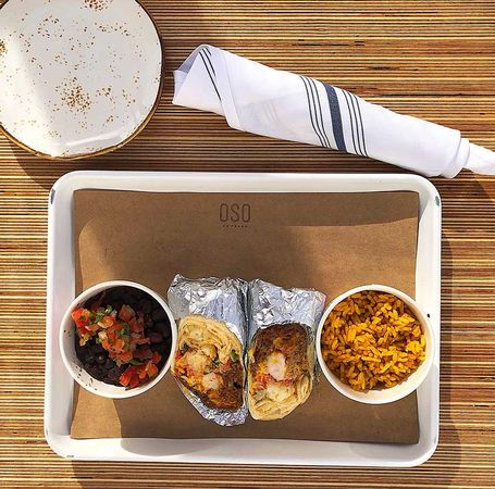 Burritos and Tacos in Paseo Arts District OKC